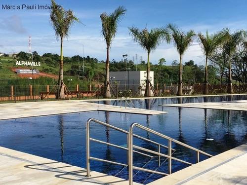 Terreno A Venda No Condomínio Alphaville - Vila Maringá - Jundiaí. - Te01209 - 69325692