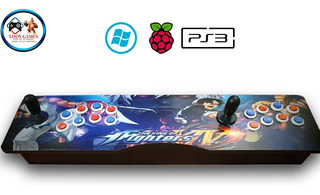 Tablero Arcade 2 Jugadores Pc, Raspberry Y Ps3 Usb