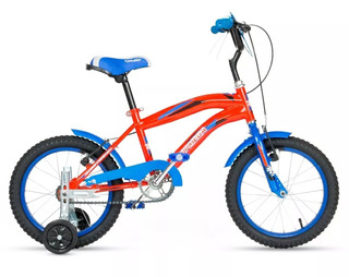 Bicicleta Bmx Cross Topmega Rodado 16 Nene Infantil Cuotas