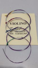 Jogo De Corda Violino 4/4 Mauro Calixto Ótimas Cordas***