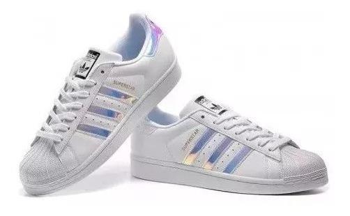 Tênis adidas Superstar Holográfico Unissex Importado