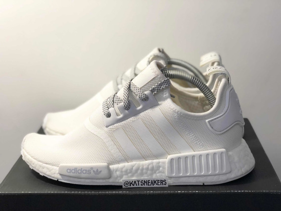 adidas Nmd R1 Triple White 3m 38 Br Novo Sem Juros 450av