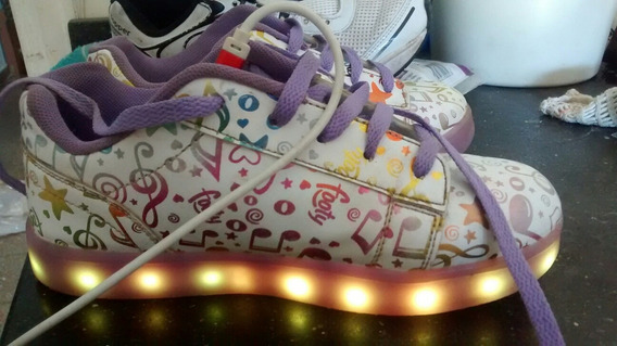 Zapatillas Footy Con Luces 34