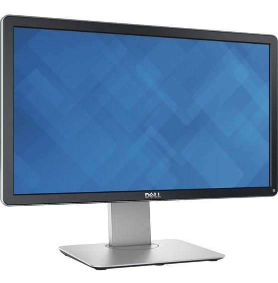 Monitor Led 20 Dell P2014ht Preto Widescreen Open