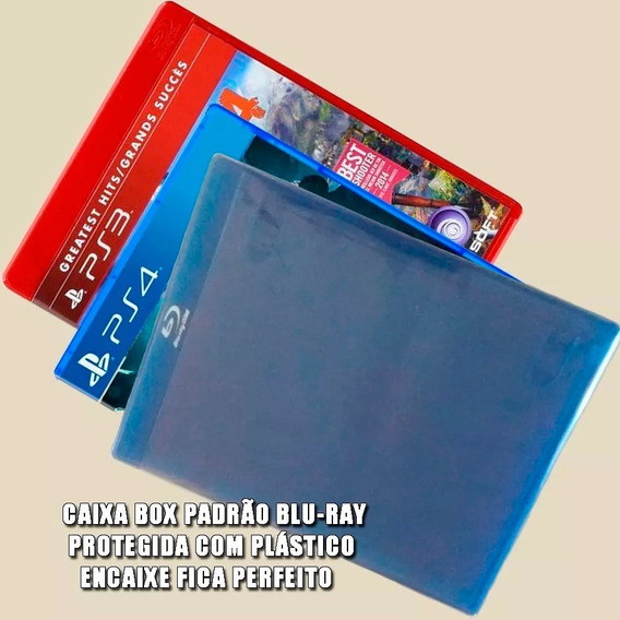 Envelope Plástico Transp Aba Adesiva Bluray/ps3/ps4 500 Pçs