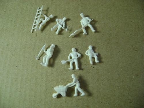 Imagen 1 de 10 de Nico 7 Obreros De La Construccion Para Pintar H0 (pvh 23)