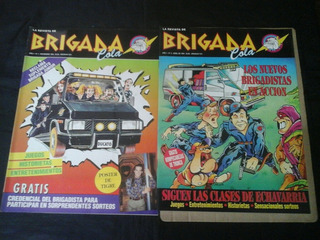 Pack Revistas Brigada Cola - 2 Ejs