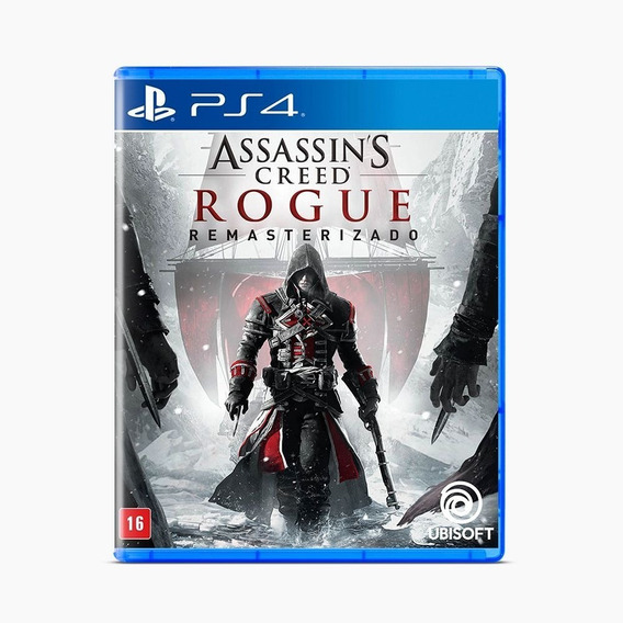 Jogo Assassin´s Creed: Rogue Ps4 Playstation 4 Midia Física
