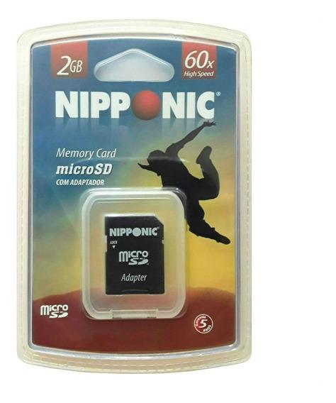 Cartão De Memória Micro Sd 2gb Tf / R002 Ni