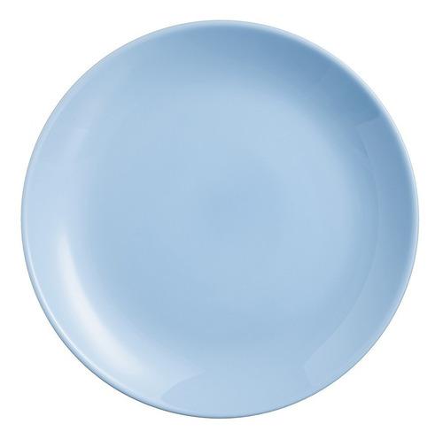 Set De 4 Platos Trinches Diwali Light Blue Opal De 27 Cm