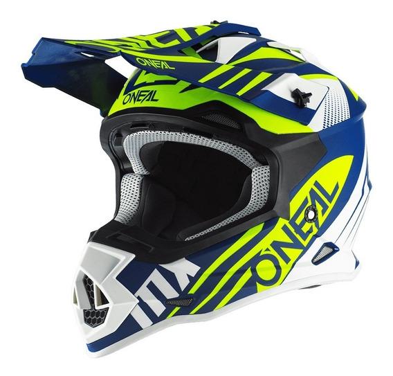 Casco Motocross Oneal 2 Series Rl 2.0 Mx Enduro Atv Cuo