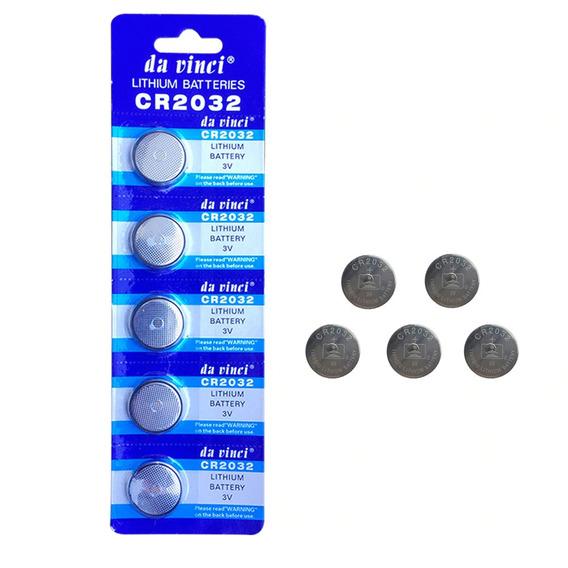 Bateria De Lithium Cr 2032 3v Cartela C/5 Unidades