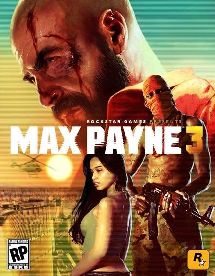 Max Payne 3 Em Portugues (mídia Física) Pc - Dvd