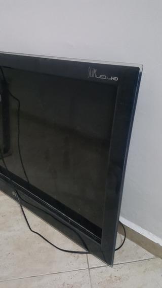 Tv Usada Porem Placa Queimada Tela Esta Boa