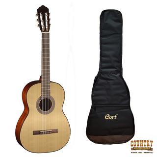 Guitarra Criolla Cort Ac100op Funda Acolchada Mochila Cuotas