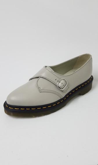 Zapato Dr Martens Agnes Soft Grey Mujer Original