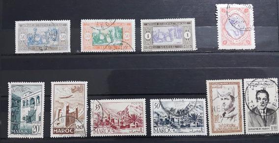 Colônias Francesas - 20 Selos Usados R$ 8,00