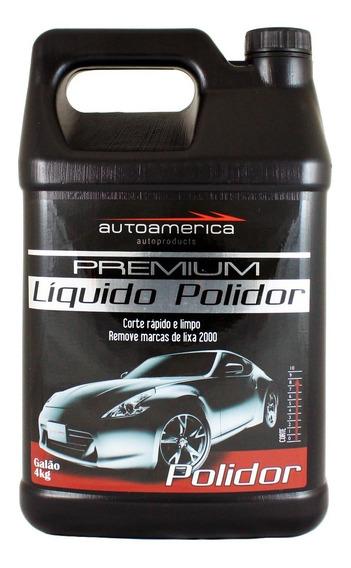 Líquido Polidor Premium Galão 4kg - Autoamerica