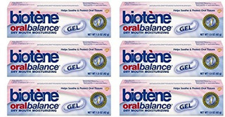 Biotene Oral Balance Gel Hidratante Para A Boca Seca 6 Cxs