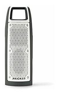 Kicker Bullfrog Portatil Altavoz Bluetooth Impermeable Gris