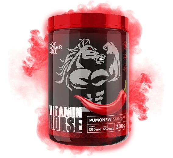 Pumonew 300g - Vitamin Horse - Pré Treino