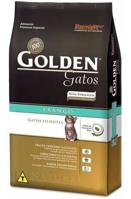 Ração Golden Gatos Filhotes Frango 10kg