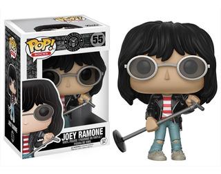 Figura Funko Pop! #55 Joey Ramone Los Ramones 100% Original