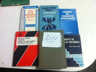 18 Livros De Direito - Promoção Decoração Estantes