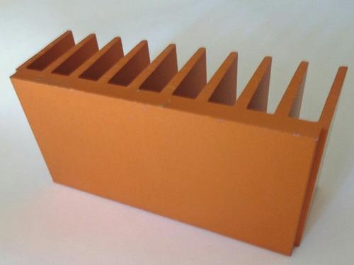 Disipador De Aluminio Anodizado. Nuevos 104x50x40mm - Zd14x5