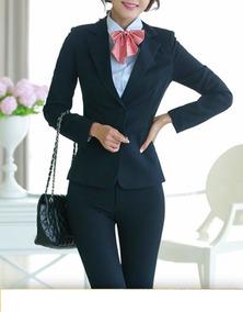 a6771a5446 Conjunto(calça+blazer)terninho Fem Executiva Elegante Kit100