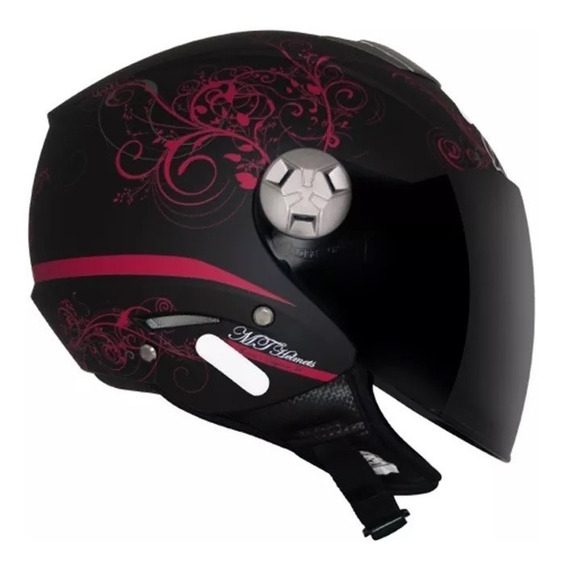Capacete Mt City Eleven Elegance Black 56, 58