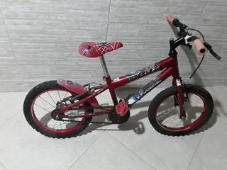 Bicicleta Aro 16 Do Homem Aranha Novinha..