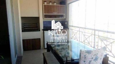 Apartamento Marques Do Pombal 140m² 3 Suítes 3 Vagas Ap0727
