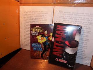 Pack 2 Novela Marvel Ant Man Dr Strange Comic Avengers