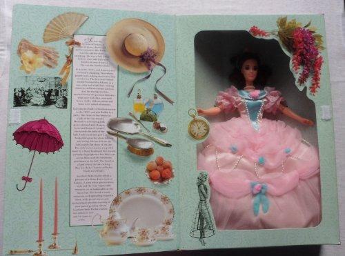 Muñeca De Belle Barbie Del Sur De Las Grandes Eras 1850's D