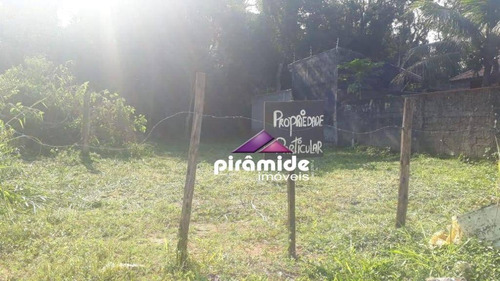 Terreno À Venda, 360 M² Por R$ 160.000,00 - Massaguaçu - Caraguatatuba/sp - Te1463