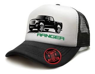 Gorras Trucker Camioneras Autos Camionetas Ford Ranger 4x4