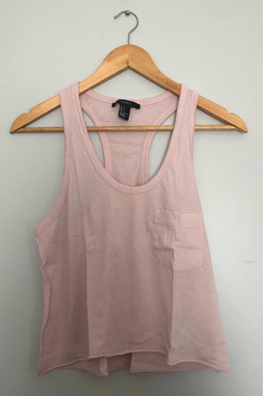 Musculosa Rosa - Forever 21