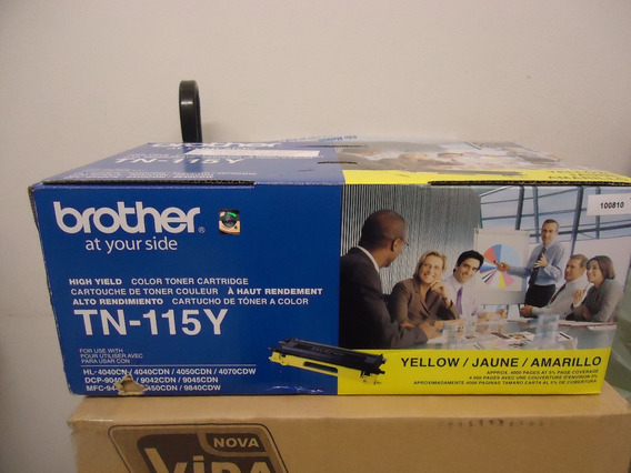 Toner P/ Impressora Brother Hl-4040-cn - Novo - Amarelo