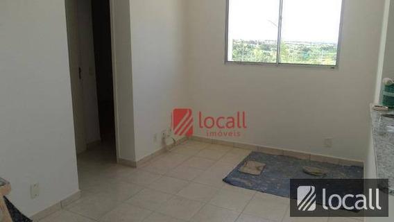Apartamento Com 2 Dormitórios Para Alugar, 50 M² Por R$ 700,00/mês - Jardim Caparroz - São José Do Rio Preto/sp - Ap0228