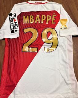 Camisa Do Monaco Final Copa Da Liga Francesa 2017