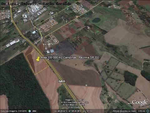 Imagem 1 de 4 de Área À Venda Em Chácara De Recreio Barão - Ar016472