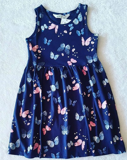 Vestido De Niña Importado
