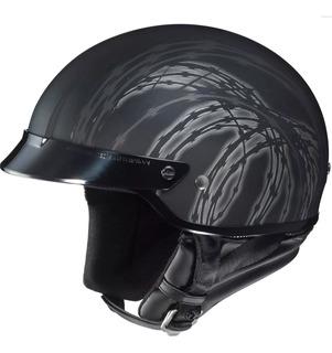 Casco De Motociclismo Hjc Negro Mate Talla Xl