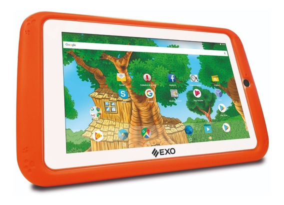 Tablet Exo Wave I007 Kids Niños Android 8.1 16gb Anti Golpes