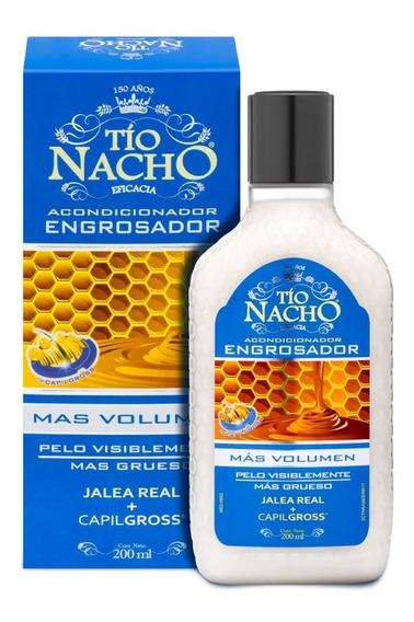 Tio Nacho Acondicionador Engrosador 200ml Magistral Lacroze