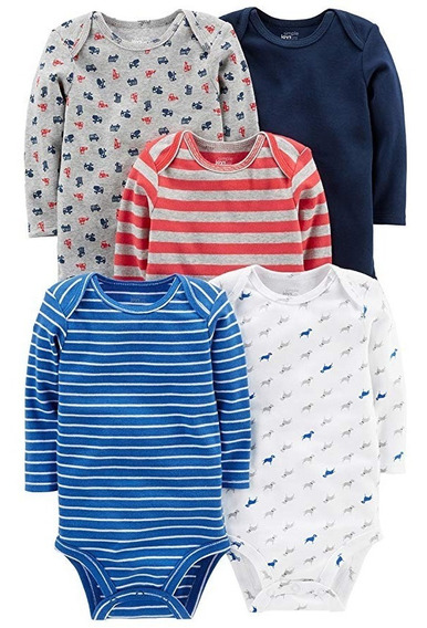 Set De 5 Bodys Carters, Body Ropa Carters Para Bebe