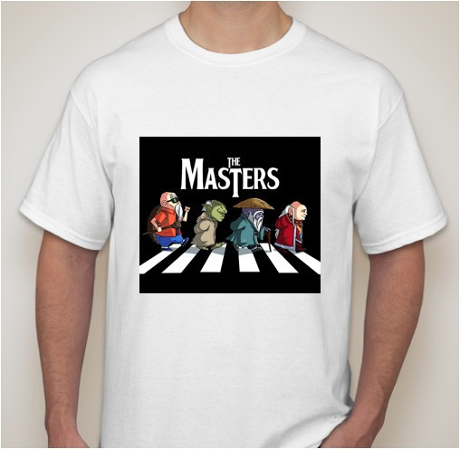 Playeras The Masters Unisex