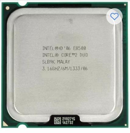 Processador 775 Core 2 Duo E8500 3,16ghz/ 6m/1333/86+ Cooler