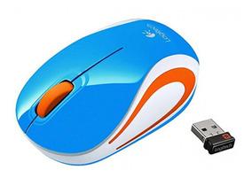 Mini Mouse Wireless M187 Azul Logitech